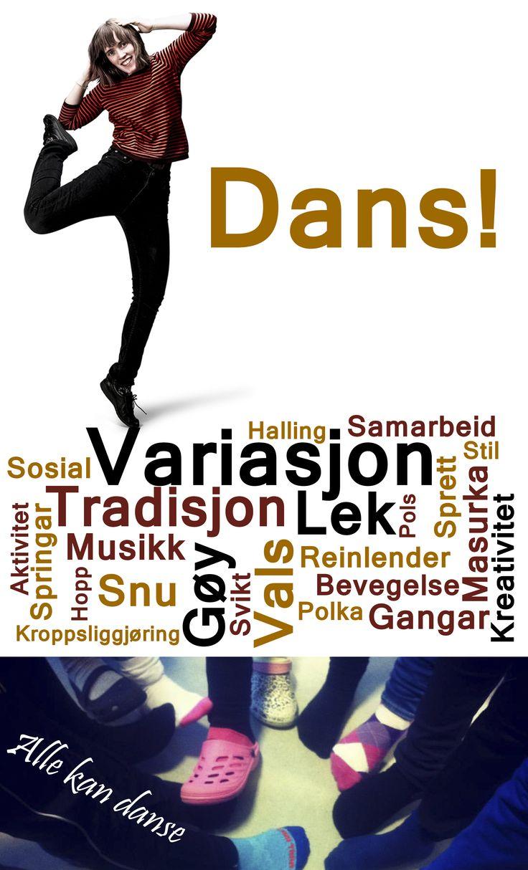 Dans og folkedans er moro for alle. En kan lære nye tricks hele livet og frå hver dansepartner. På kurs med Anna skal en lære litt om variasjonsmuligheter som passer til deg!