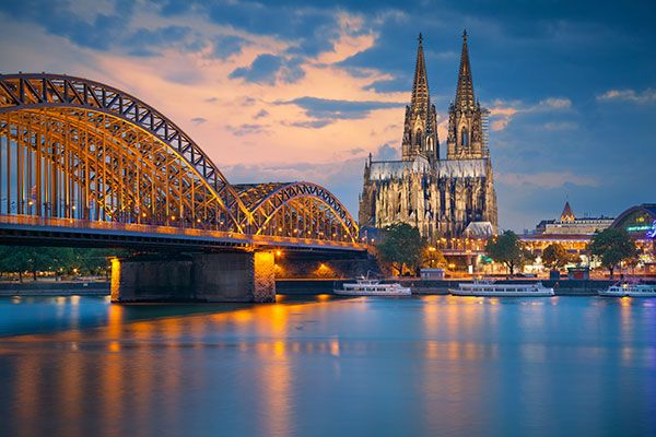 Cologne. It has this vibe of a city that has constantly had to struggle to survive. It's always rebuilding and reinventing itself. They embrace art, culture, expression without any of the arrogance that would normally come with it.