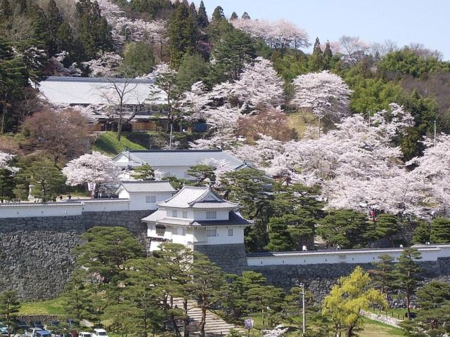 霞ヶ城公園(福島県二本松市)