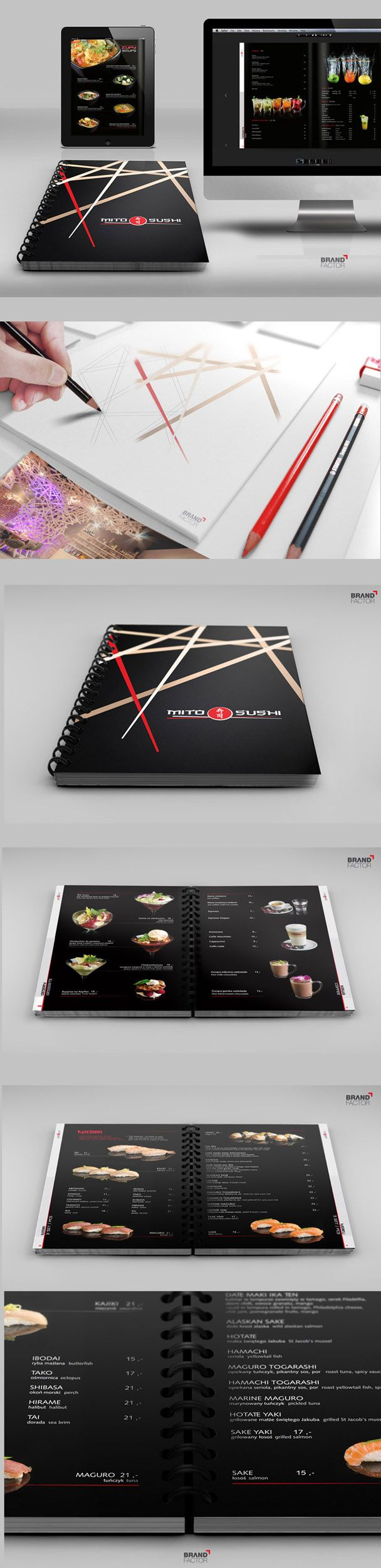 menu drukowane oraz on-line dla renomowanej gdańskiej restauracji MITO SUSHI  #menu , #restaurant  #sushi  #gdansk  #brochure  #design  #print  #layout  #corporate  #creative  #cover  #spirala  #graphics  #katalog  #agency  #brandfactor  #advertising #projekty #logo #projektowanie #WebDesign #web #digital-marketing #marketing