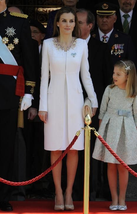 Come see the best royal style moments from last year, including the crisp white outfit Letizia wore when she became Queen