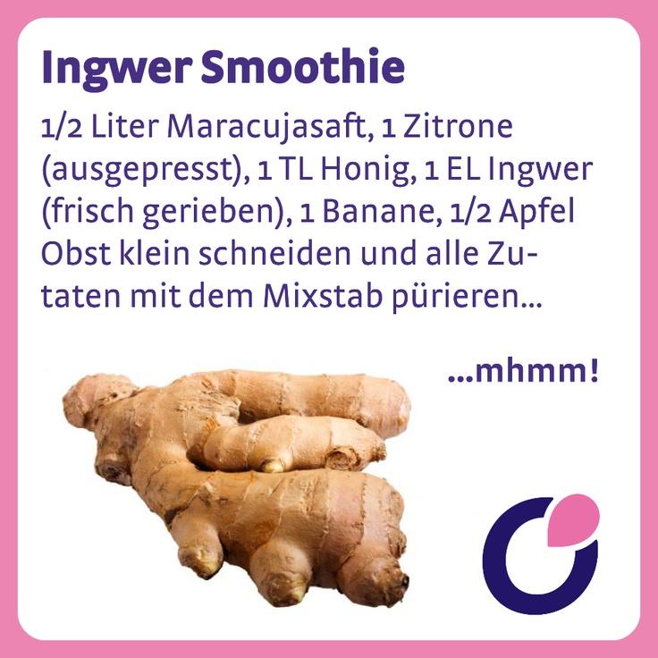 Ingwer ist ein wahrer 'Fruchtbarkeitshelfer' - er lindert u.a. Schmerzen beim Eisprung und stärkt die Fortpflanzungsorgane.
