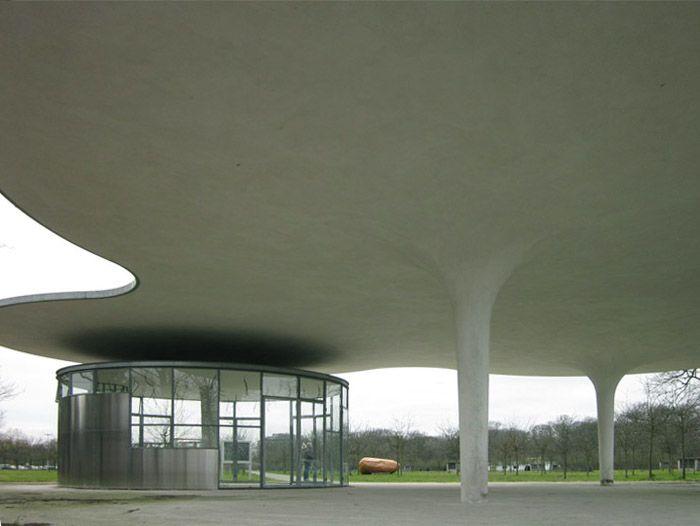 john k rmeling canopy structure in the middelheimpark in antwerp dutch artist john k rmeling. Black Bedroom Furniture Sets. Home Design Ideas