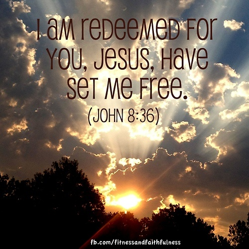 I Am Free Jesus I am redeemed for you,...