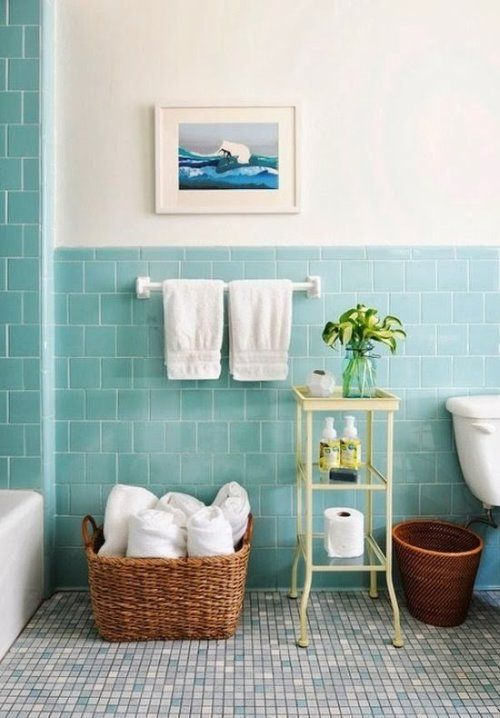 BAÑOS EN COLOR AZUL | Decorar tu casa es facilisimo.com