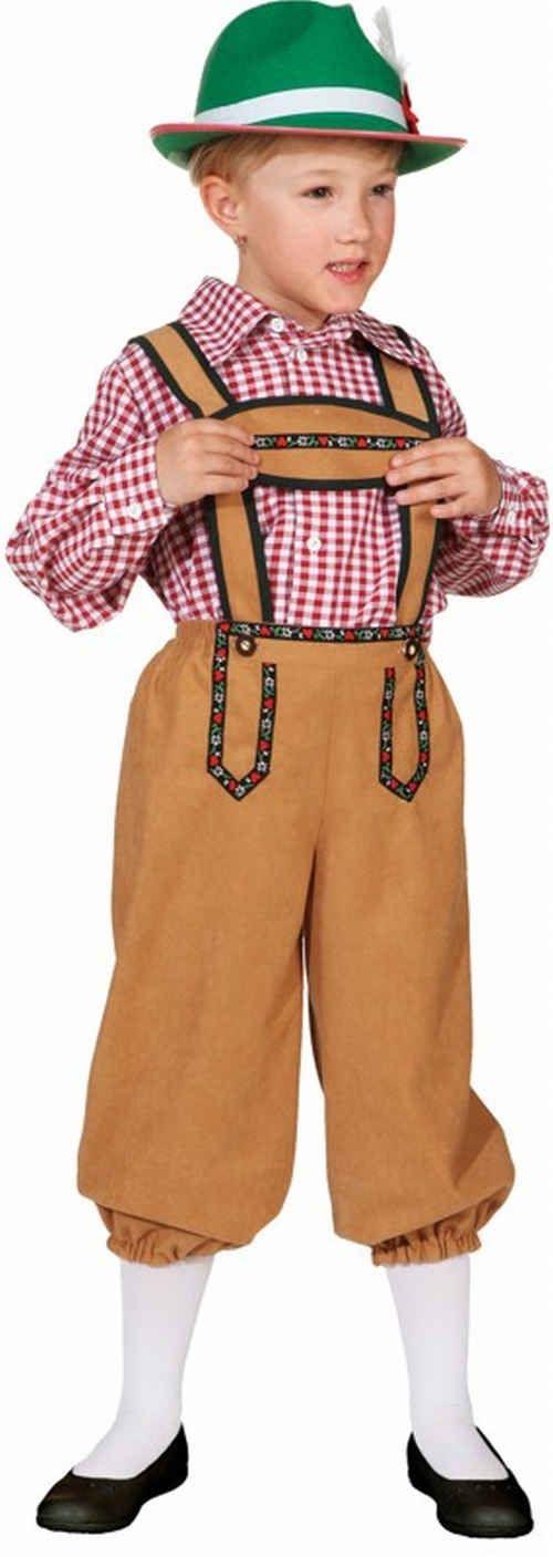 Costume bavarese bambino