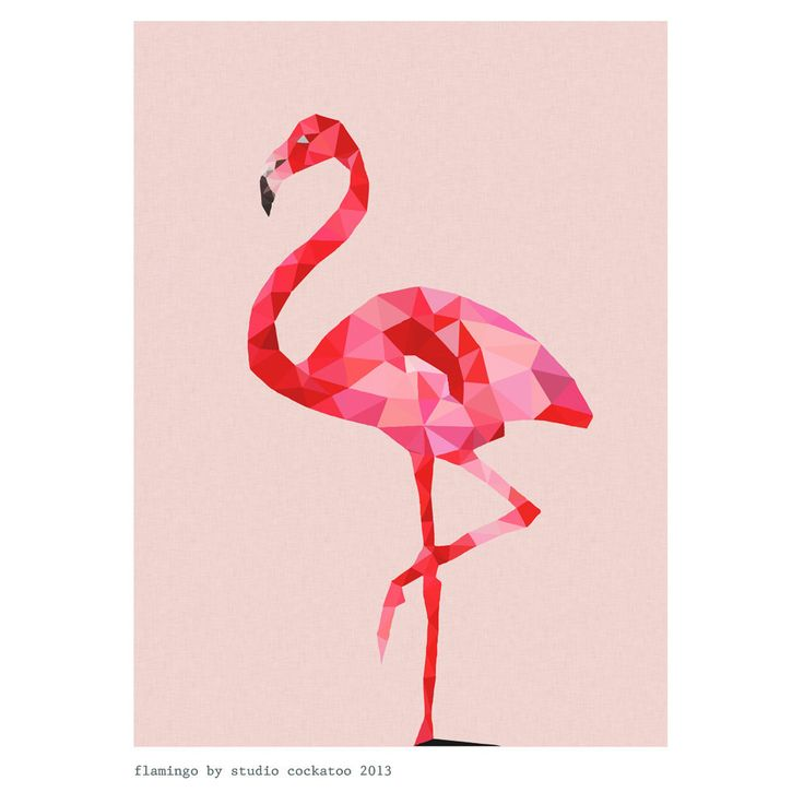 VIDA Statement Clutch - Funky Flamingos at Night by VIDA