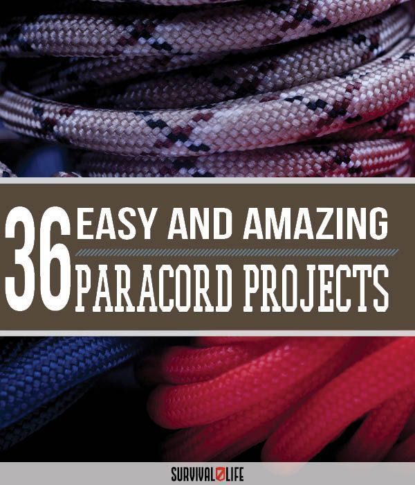 36 Paracord Projects For Preppers | The Best Selections Of DIY Paracord Projects, From Lanyards And Belts To Whips And Weapons - Even A Cool Paracord Keychain With A Secret Hidden Compartment by Survival Life at http://survivallife.com/2016/01/04/36-parac