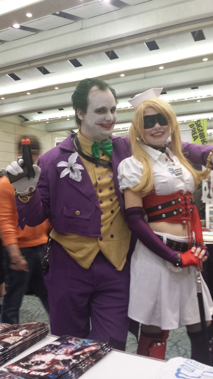 Joker and Harley... love it!