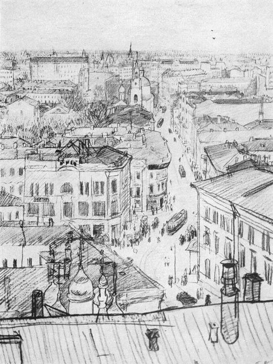Музей рисунка - Пётр Васильевич Митурич (1887-1956гг).