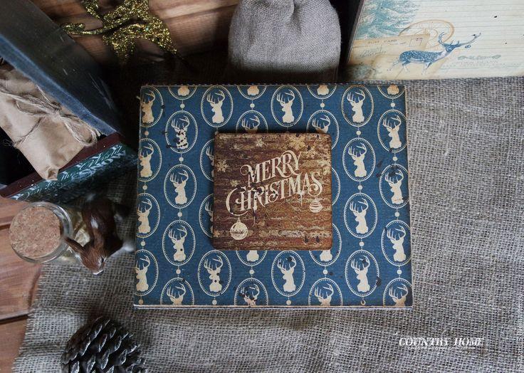 """Купить Набор новогодних украшений """"Скандинавское Рождество"""" - шкатулка для мелочей, коробки для хранения, подарки на новый год"""
