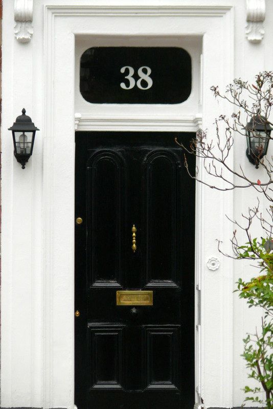 White Transom or Fanlight House Numbers No by transomnumbers, £25.00