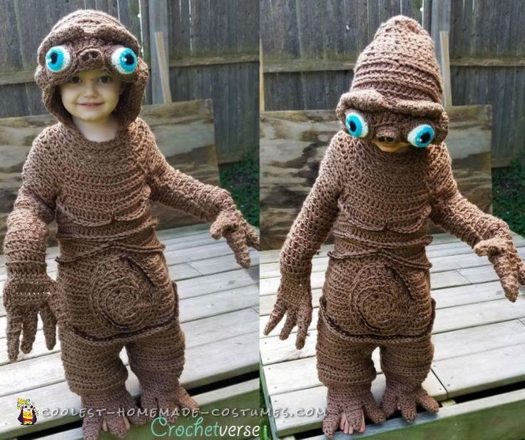 coolest homemade et costume - Kids Halloween Costumes Pinterest