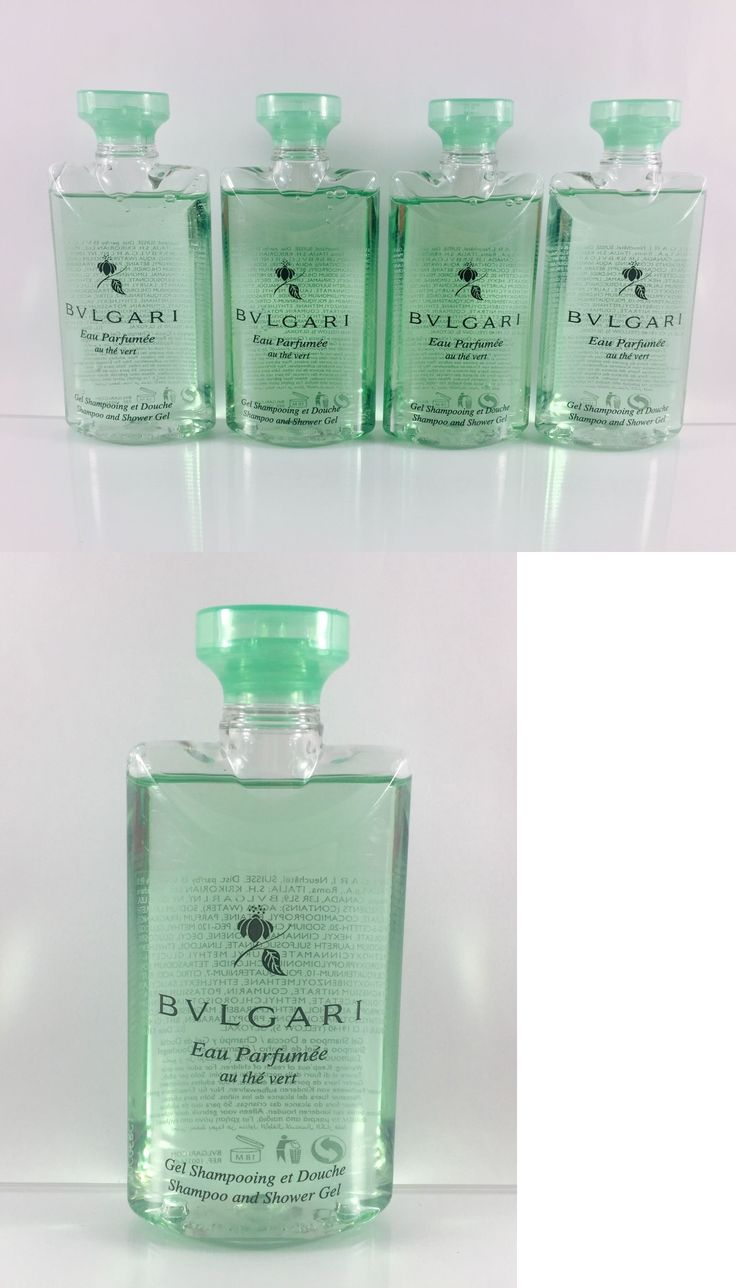 Body Washes and Shower Gels: Bvlgari Green Tea Shampoo And Shower Gel Lot Of 4 - 2.5Oz Total 10Oz Free Bonus! -> BUY IT NOW ONLY: $30 on eBay!