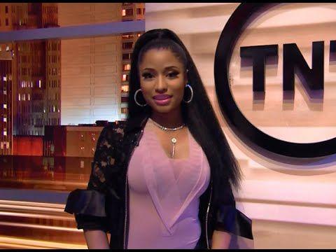 Nicki Minaj Freestyles With Shaquille O'Neal On 'Inside The NBA' 2015