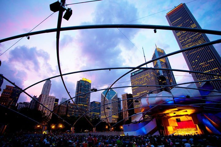 The Grant Park Music Festival in Chicago, Illinois, is unlike any other of its kind. Offering ten weeks of outdoor classical concerts, the festival is family-friendly and free to the public.
