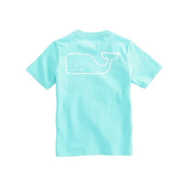 Shop Short-Sleeve Vintage Whale Pocket T-Shirt at vineyard vines ($27) ❤ liked on Polyvore featuring tops, t-shirts, vintage t shirts, blue tee, vineyard vines t shirt, short sleeve pocket tee and pocket t shirt