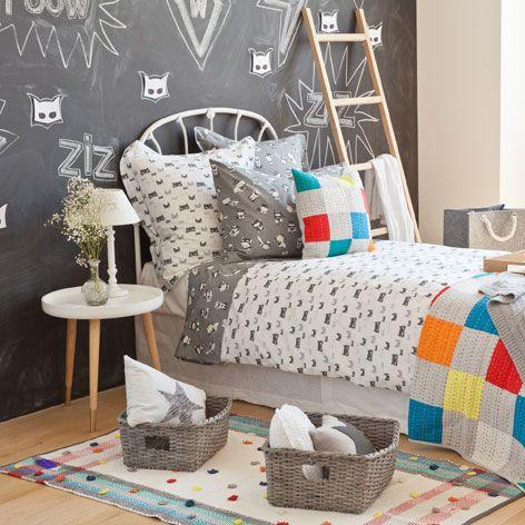 TEPPICH MIT TUPFEN UND STREIFEN - Teppiche & Vorhänge - Schlafen | Zara Home Deutschland