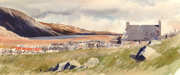 ~ Cefn Cedryn - Llyn Eigiau ~ a lonely homestead in Wales ~ Rob Piercy ~