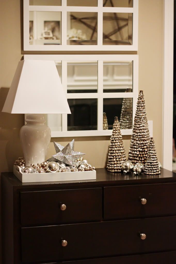 14 best Seasonal Table Console images on Pinterest Christmas - contemporary christmas decorations