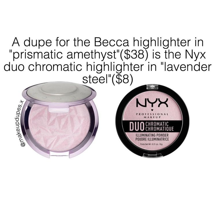 Image result for nyx highlighter lavender steel