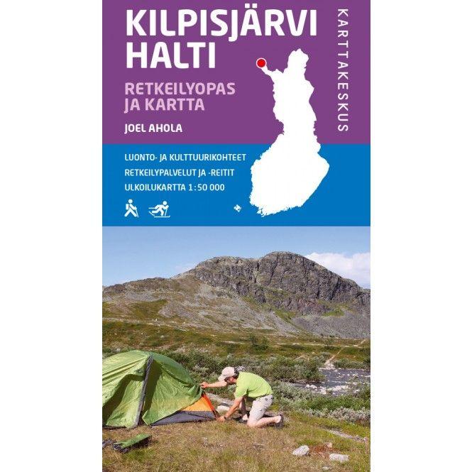 Kirja KILPISJÄRVI HALTI RETKEILYOPAS & KARTTA - Partioaitta