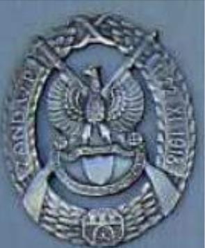 Odznaka Żandarmerii WP - Lwów 1918r.