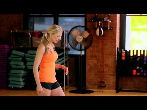 How to Do a Lunge Split Jump : Gym Slim