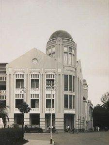 Avros Building Medan, ca 1918