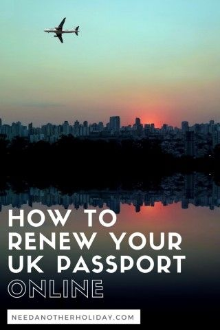 renew uk passport online