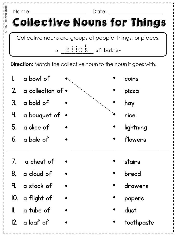 2nd Grade Language Arts and Grammar Practice Sheets ...