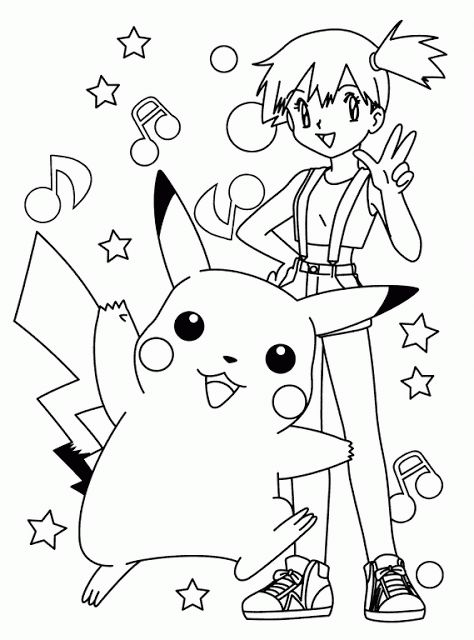 Pokemon coloring pages pokemon coloring pagespikachu