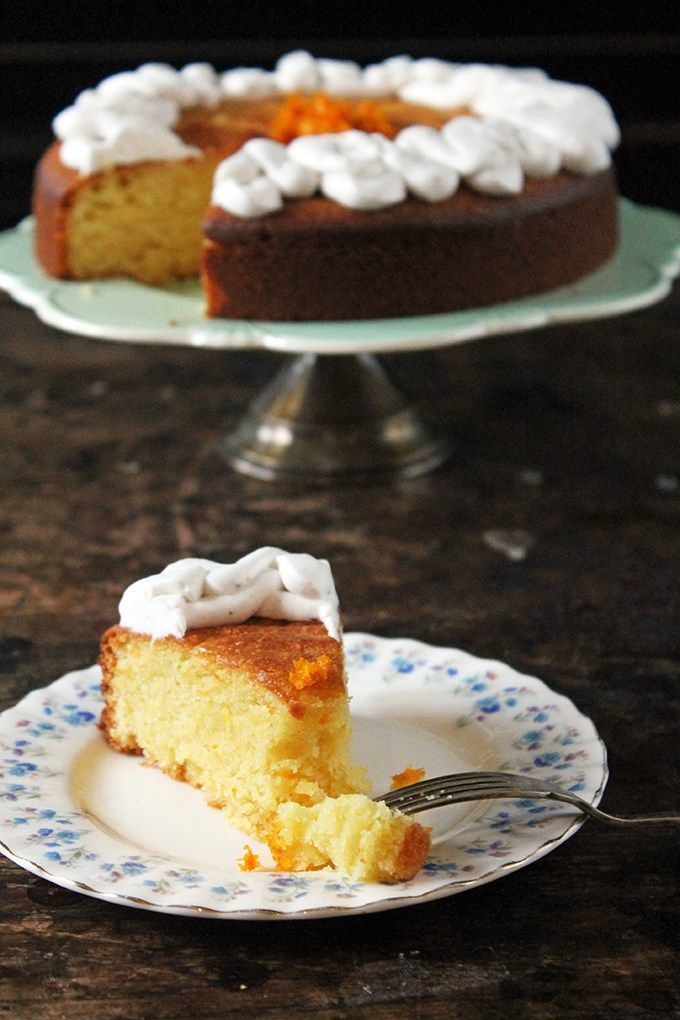 Gluten free cornflour sponge cake recipe