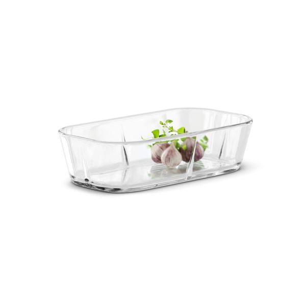 This small ovenproof stoneware dish eliminates the need for greaseproof paper and grease. The dish has a non-stick surface. The stoneware range has b