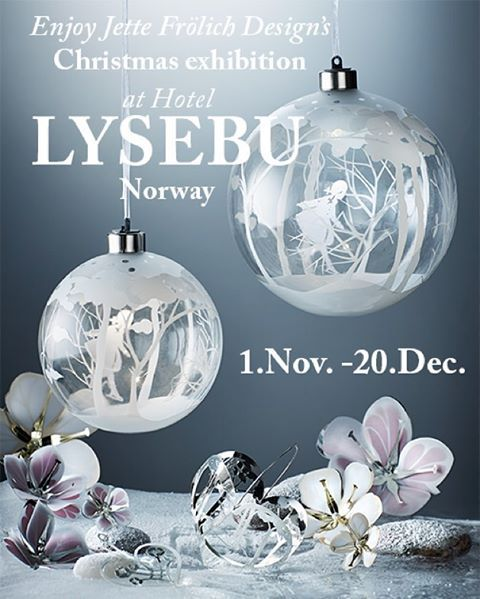 Today at 15.00 Lysebu opens the doors to Jette Frölich Design's annual magical Christmas exhibition. If you are in Oslo, please make sure to visit the beautiful hotel Lysebu, where you can enjoy the new designs created by the Queen of Christmas. #christmasexhibition #lysebu #jettefrölich #jettefroelich #jettefrölichdesign #jettefroelichdesign #danishdesign #scandinaviandesign #christmasdecor #christmasdecoration