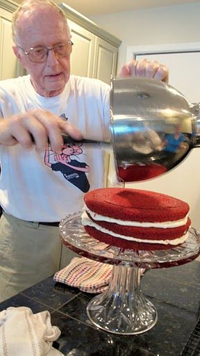 """A 'fool-proof"""" red velvet cake recipe. By far the best red velvet recipe I have EVER made!"""