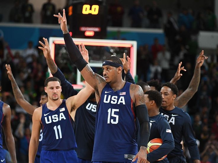 Team usa isn't getting better — world #basketball is getting worse
