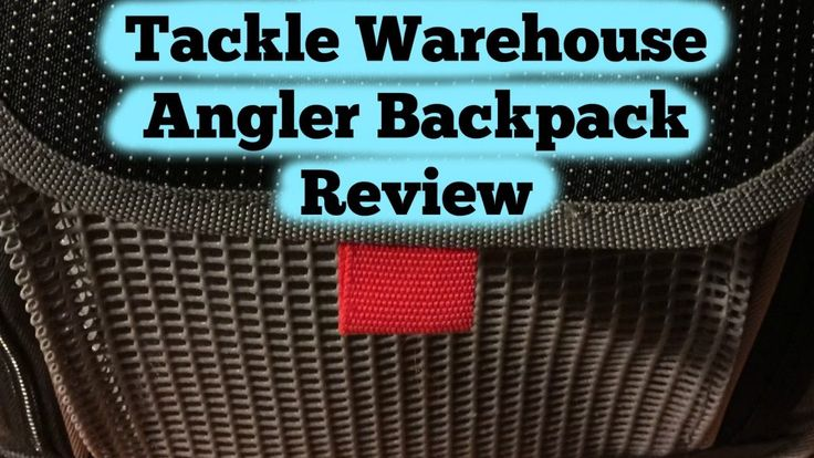 New post (Tackle Warehouse Angler Backpack Review) has been published on Fishermans Hangout  http://fishermanshangout.com/tackle-warehouse-angler-backpack-review/pic.twitter.com/92MvsW1Mdf