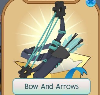 Animal Jam Neon Bow & Arrow - OMG I want this so bad! ~ Winterwolf1012 - My trading list for it anyone? Comment down below!
