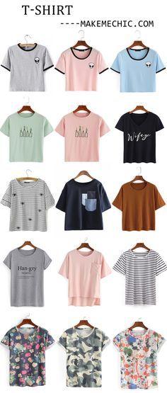 Camisas lindas muy cool