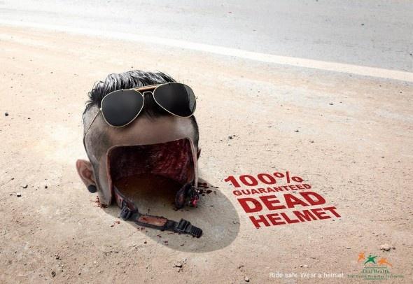 Thai Health Promotion Foundation: Human Helmet
