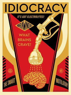 Shepard Fairey makes Idiocracy-inspired election artwork | Art and design | The Guardian