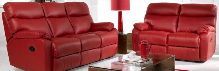 Leather Sofas Red Leather Reclining Sofa Leather Sofa leather recliners Pinterest Leather reclining sofa Reclining sofa and Leather sofas