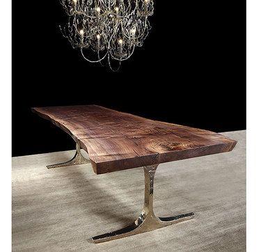 wow gorgeous legs on a slab table