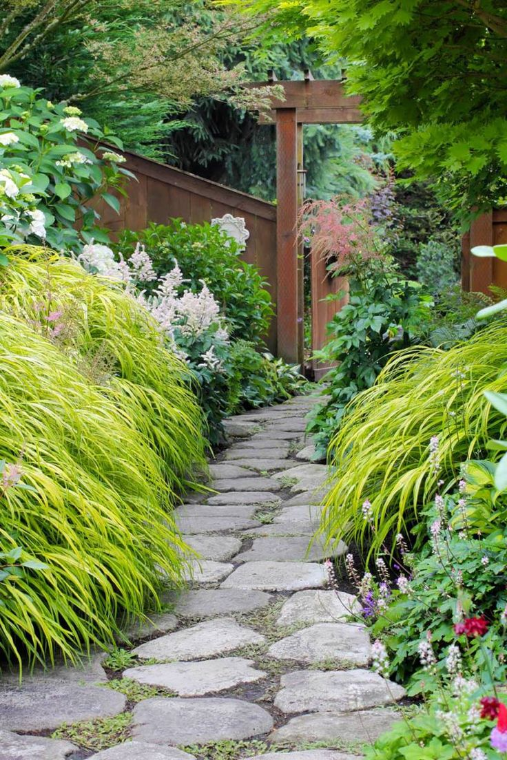 A Steep Slope Is Turned Into A Garden Paradise