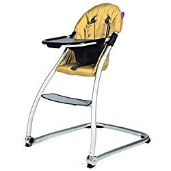 BabyHome - Taste Baby High Chair w/ Harness & Dishwashable Tray - Sunshine