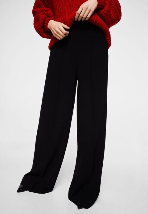 Vêtements Mango JUSTO PALAZZO - Pantalon classique - black noir: 49,99 € chez Zalando (au 27/02/18). Livraison et retours gratuits et service client gratuit au 0800 915 207.