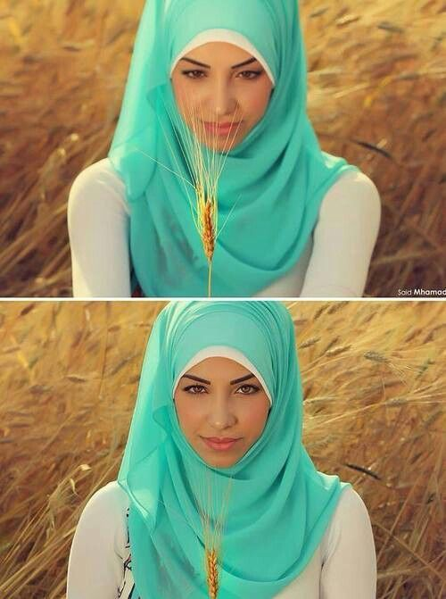 Baby Blue Hijab Trends