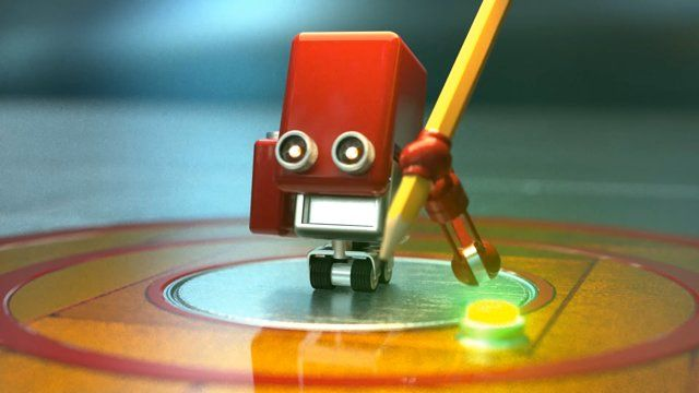 "A small robot is born and sets out into the world, happily performing his simple tasks. Suddenly, in a small, but profound way, the world as he knows it changes. What follows is a downward spiral of jealousy, resentment and unrestrained desire.   This animated musical short features Rob Fetter's pop-rock gem, ""Desire."" Story, Direction and Animation by Scott Thierauf. Sound Design and Creative Collaboration by Grant Kattmann, Editorial by Theresa Bruce, and Color Grade by ..."