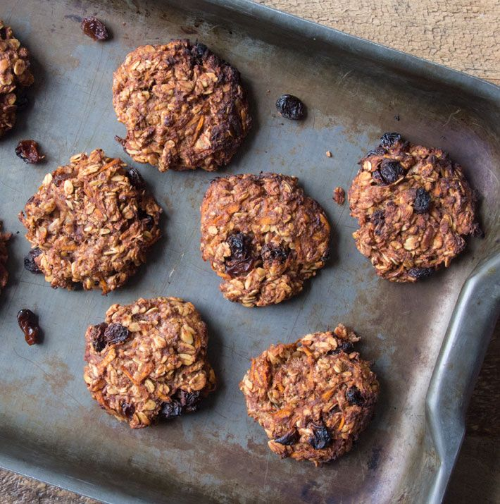 Carrot Cake Cookies Deliciously Ella